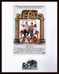 Curtis Armstrong Signed Framed 11x14 Revenge of the Nerds Poster Display