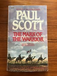 The Mark Of The Warrior By Paul Scott First Carroll And Graf 1985