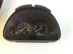 BMW OEM E39 5 SERIES FRONT IN DASH INSTRUMENT ODOMETER CLUSTER
