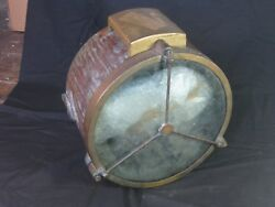 11 Inch Brass Vintage Nautical Searchlight