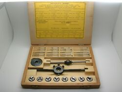 Bergeon 30322 Tap And Die Set Great Condition Watch Repair Tool Gently Used 11a23