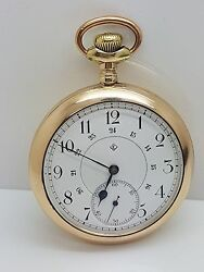 T. Eaton And Co Limited 18/ 20 Ligne Swiss Pocket Watch Gallet And Co Interocean