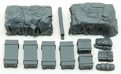 1/35 Universal/generic Truck Load Set 4 Tarpcovered Crates Value Gear
