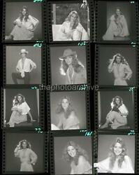 Superb LINDSAY WAGNER Embossed CONTACT SHEET 11x14 Photo By Harry Langdon 1b