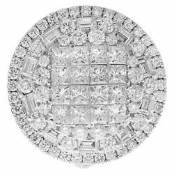Ball Of Brilliant Diamonds approximately 3.5 cts in 18k white gold