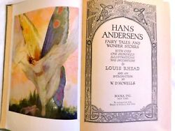Rare Vintage Hans Andersenand039s Fairy Tales And Wonder Stories 1942 Louis Rhead