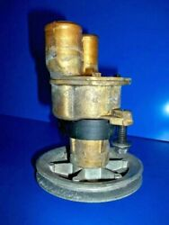 Volvo Sea Water Pump 3851623 V-belt 4.5 Pulley W/ Impeller And Gasket Included