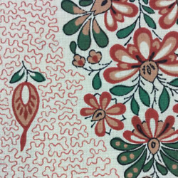 Clarence House Fabric 'bhutan' Msrp 225y Paisley L'indienne Floral Wow 30 Yds