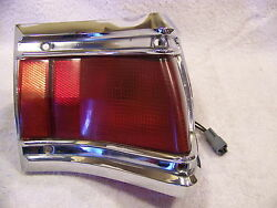 1971 Plymouth Custom Suburban Rh Outer Taillight Lens And Housing Station Wagon