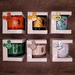 6 Disney Store Mickey Mouse Memories Mugs Cups Limited Edition Bnib
