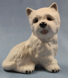 west highland terrier dog porcelain royal präsente figurine porcelainfigurine