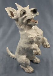 west highland terrier porcelain Rosenthal dog figurine porcelainfigurine 1957