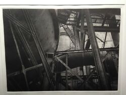 Paul Taylor Signed Ap Photogravure Us Steel Pittsburgh Pa Framed 1986