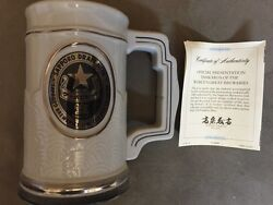 Very Rare Vintage Sapporo Breweries Beer Stein Certificate Of Authenticity