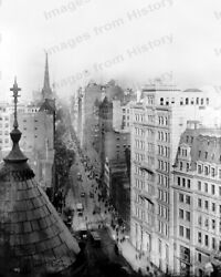 2 8x10 Prints Historic New York City Street Scenes 1890 And 1920and039s Nyca