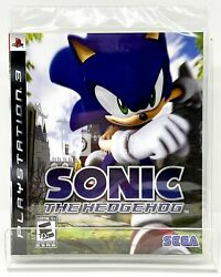 Sonic The Hedgehog - Ps3 - Brand New | Factory Sealed