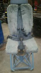 Weber Pilot Aircrew Seat - Last One - C-17 Type Ii - Airworthy - Shipped Free