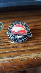 1999 Sturgis Chamber Official Black Hills Motor Annual Rally Pin Only Title Pin