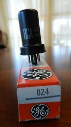 1 Rca Oz4 Electronic Tube Nos From Private Collector In Ge Box Nice Tube