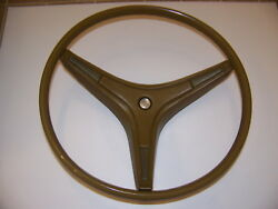 1971 72 73 74 Plymouth Duster Dodge Dart Charger Steering Wheel 3575267 Oem Tan