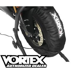 Vortex Tire Warmers 120, 140-165 Front/rear Tires Motorcycle Track Day Tw102