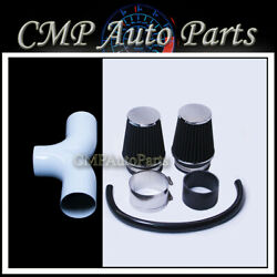 Dual Air Intake Kit Fit 2005-2010 Jeep Grand Cherokee / Commander 5.7l And 6.1l