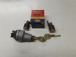 1958 Chrysler Imperial, Ignition Switch And Lock, Door Locks And Keys Nos Matched