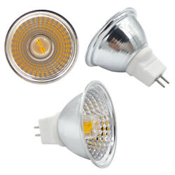 MR16 G5.3/GU5.3 LED Light Cup COB 1511 Spotlight Lamp AC/DC 12V Equivalent 60W