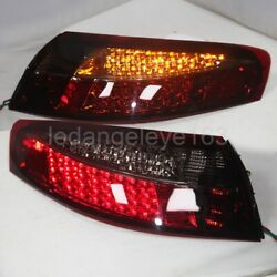 Led Tail Lamps For Porsche 997 996 Led Rear Lights 1997-2004 Year Dark Red Sn