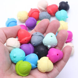 Bpa Free Pine Cone Silicone Beads Diy Baby Teething Necklace Jewelry Toys Making