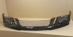 12 13 14 15 Bentley Gt Gtc Custom Front Bumper Cover And Lip Led And Black Grills