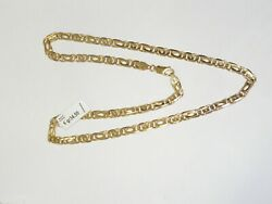 Catena Oro Giallo 18kt Yellow Gold Chain Necklace Collier En Or Goldkette 黄金链
