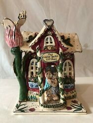 Blue Sky Clayworks The Cuddle Bear Cottage By Heather Goldminc Retired