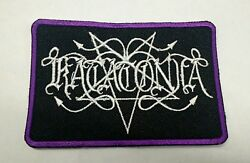 Katatonia Patch Iron/sew-on Embroidered Doom Metal Goth Metal Brave Murder Day