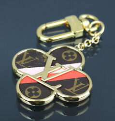 Louis Vuitton Porte Cle Into The Flower Key Chain Bag Charm M67356 45438 from JP