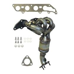 Exhaust Manifold with Integrated Catalytic Converter Fits: 2006 2007 Mercury Mar