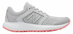 New Balance Women's 520v5 Shoes Grey with Pink