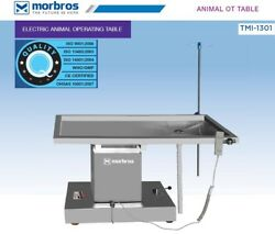 New Surgical Veterinary Operating Table Model Tmi 1301 Electric Lift Up And Down @