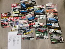 Vintage Chevrolet Ford Plymouth Muscle Car Magazines 15 Books 2011 12 13