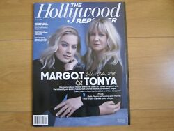 The Hollywood Reporter Margot And Tonya,golden Globes 2018 New.