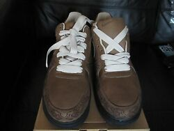 Nike Air Force1 Laser Pack Limited Edition By Stephan Maze Georges U.k Size 8.