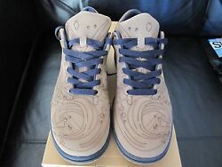 Nike Dunk Low Laser Pack Limited Edition By Chris Lundy U.k Size 8 / U.s.a 9.