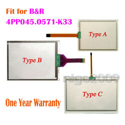 New For Bandr 4pp045.0571-k33 4pp045-0571-k33 Touch Screen Glass Touch Panel