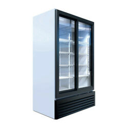 Beverage Air Mt49-1-sdw Two Section Marketeer Refrigerated Merchandiser