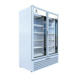Beverage Air Mt53-1w Two Section Marketeer Refrigerated Merchandiser