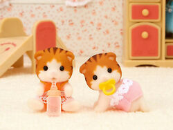 Sylvanian Families Calico Critters Maple Cat Twins