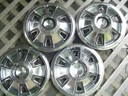 1964 65 66 Pontiac Gto Tempest Hubcaps Wheel Covers Center Caps Antique Vintage