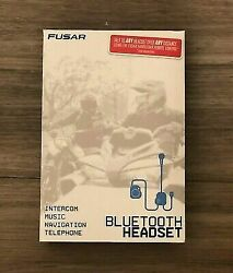 Fusar F7 Motorcycle Bluetooth Headset For Helmets