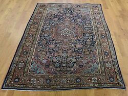 4and0394x6and0398 Antique Josan Sarouk Full Pile Good Condition Handmade Rug G45973