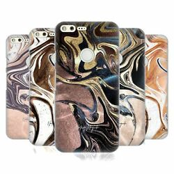 Official Nature Magick Luxe Gold Marble Metallic Back Case For Google Phones